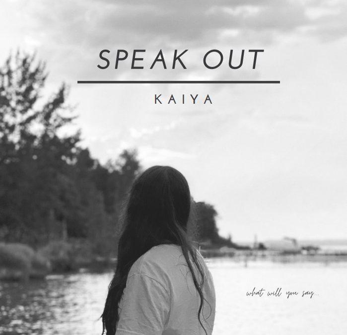 """""""Speak Out"""" Lyrics by Kaiya Gamble"""